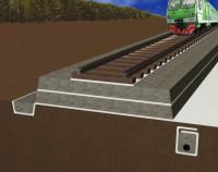 Геотекстиль при строительстве железных дорог
