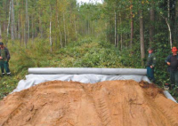 Геотекстиль при строительстве грунтовых дорог
